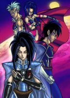 FCC-Raiden Family by Ladydove7 by dragonballdeviants