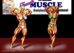 Posedown! Satin vs. Eve by DavidCMatthews