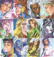90's: X-Men Archives by Dangerous-Beauty778