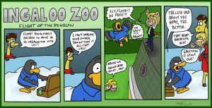 Ingaloo Zoo: Flight of the Penguin by AgentC-24