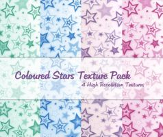 Coloured Stars Texture Pack by powerpuffjazz