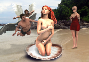 Birth of Venus reference 5 by ArielRGH