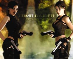 TR - Doppelganger VS Lara by Halli-well