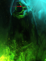Green fire 2 by Aeflus
