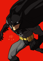 i am the bat by samuraiblack