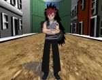 Mmd fusion fighter Garrajeel by ultimate44