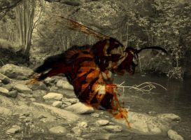 Wasp overlay . by velar1