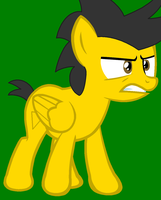 Angry Birds MLP - Yellow Bird fierce by worldofcaitlyn