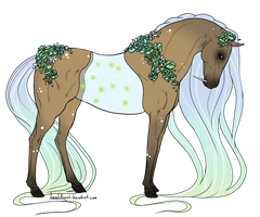 Custom Design Commission for Eauzy by gyngercookie