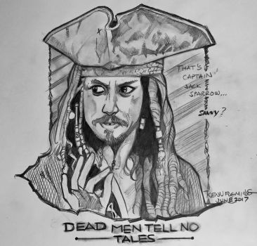 Captain Jack Sparrow by kennf11