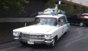 Ecto 1 Anaglyph 3D by mightyquarfoth