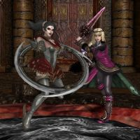 Maidens of Soul Edge by KoDraCan