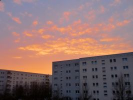 Sunset Berlin by Narina92
