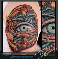Bio-punk-Steampunk-Eye-by-Todo-ABT-Tattoo by TodoArtist