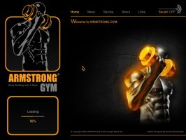 Gym Web Interface 1 by Poser96