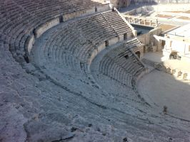 The Roman Theater by besho91