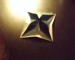 Origami 'Pop-Up Star' by YingYangKurai