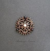 miniature pendant with pearls by nastya-iv83