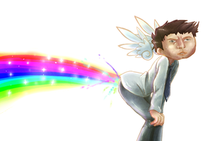 Castiel by BloodchipCookie