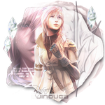 [Icon] FFXIII Lightning by RafaelJinouga