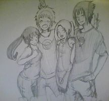 Together! Forever in Pencil! by SakuraHaruno178