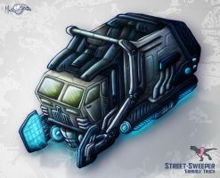 COLLATERAL - Street Sweeper by Mark-MrHiDE-Patten