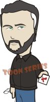 Gil Grissom - CSI by toonseries