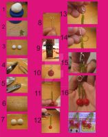 Tutorial: cherry earrings by crystalwingsfromako