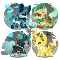 (Closed) SoulFox Batch 2 Auction! by SetSaiI