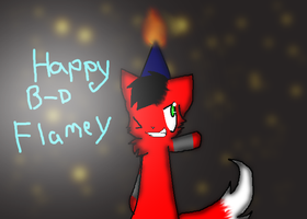 HAPPEH BD FLAME by BloodedFox