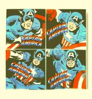 My Tribute to Jack Kirby Captain America by DevintheCool