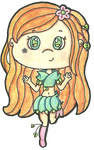 Lilia the Garden Pixie by Cupcake-Kitty-chan