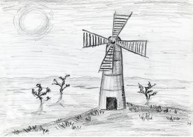 Windmill by IreneLaMagra