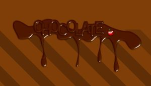 Chocolate text by Player-Designer