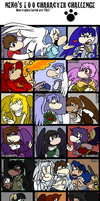 100 Rayman fancharacters by raygirl