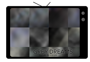 Texture Pack: Grey Dreams by u-lys