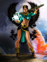 Diablo 2 Sorceress by EnriqueNL