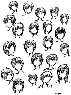 Specephquevie anime boy sketch anime hairstyles urmus Choice Image