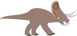 Walking with dinosaurs Triceratops by ninjakingofhearts