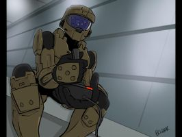 Master Chief's Free Time by bryansclark
