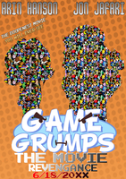 Game Grumps The Movie - Revengance - Movie Poster by KristianTheTiragon