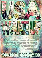 USA WAKE UP by AliWithAnEye