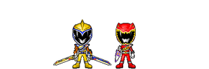 Kyoryuger Armed On Midsummer Version by robinosuke