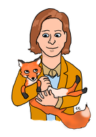 A Fantastic Man and His Fox by TheSimpsonsFanGirl