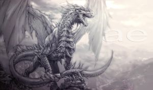 dragon - - by aenaluck