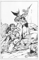 WW vs Wolvie by fcoesquivel