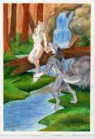 Wolf River commission by Paperiapina