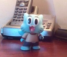 Gumball Vinyl Figure by SquirrelCat1998V2