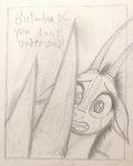 Sable Story - Page 62 W.I.P. - Horn Problem by TheFriendlyElephant