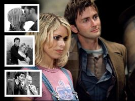 The Doctor and Rose Tyler by HellYeahDoctor
